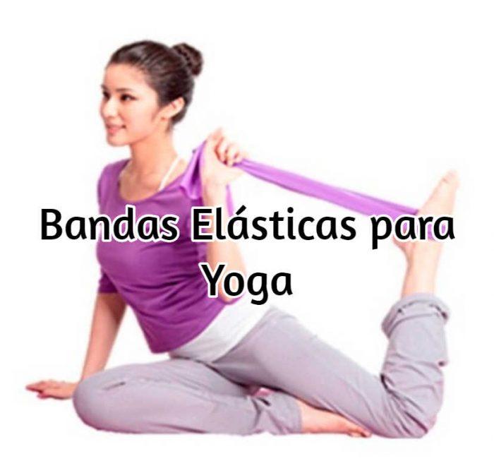 bandas elasticas yoga